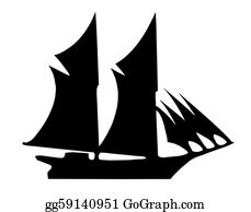 old ship silhouette old sailing ship silhouette on water silhouette old ship