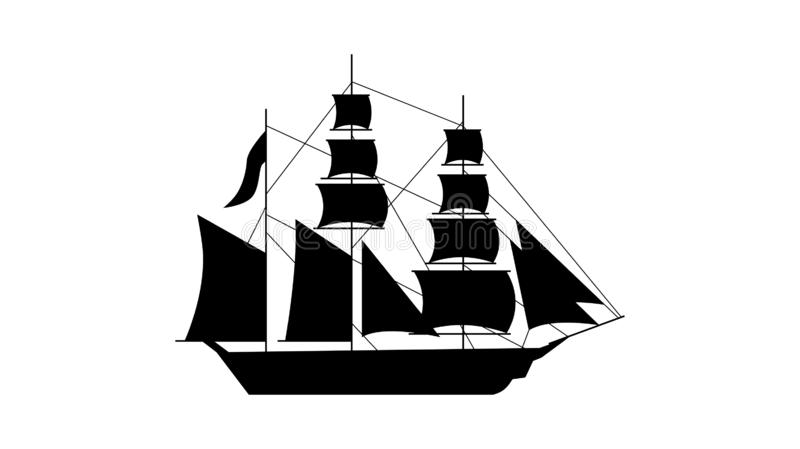 old ship silhouette old ship silhouette stock illustrations 6717 old ship silhouette ship old