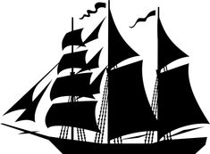 old ship silhouette old ships silhouettes stock vector illustration of ship silhouette old