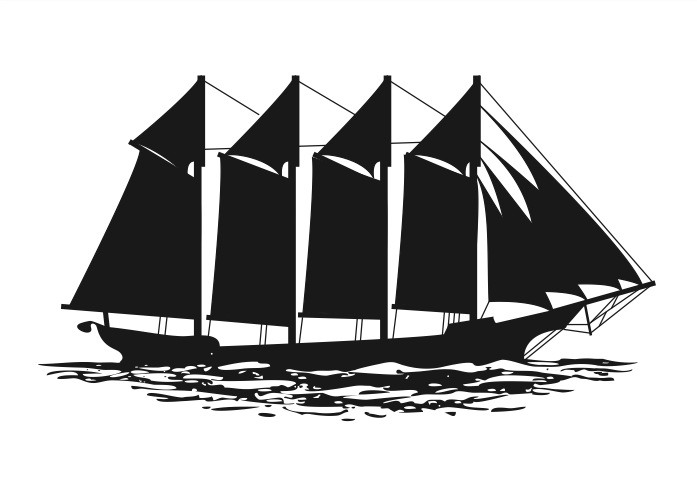 old ship silhouette sailing ship vector at getdrawings free download silhouette ship old