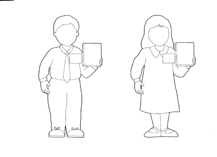 outline of a boy and girl coloring pages 소년과 소녀에 대 한 인간의 개요 계획에 대한 스톡 벡터 아트 및 기타 이미지 istock a coloring girl of pages and outline boy