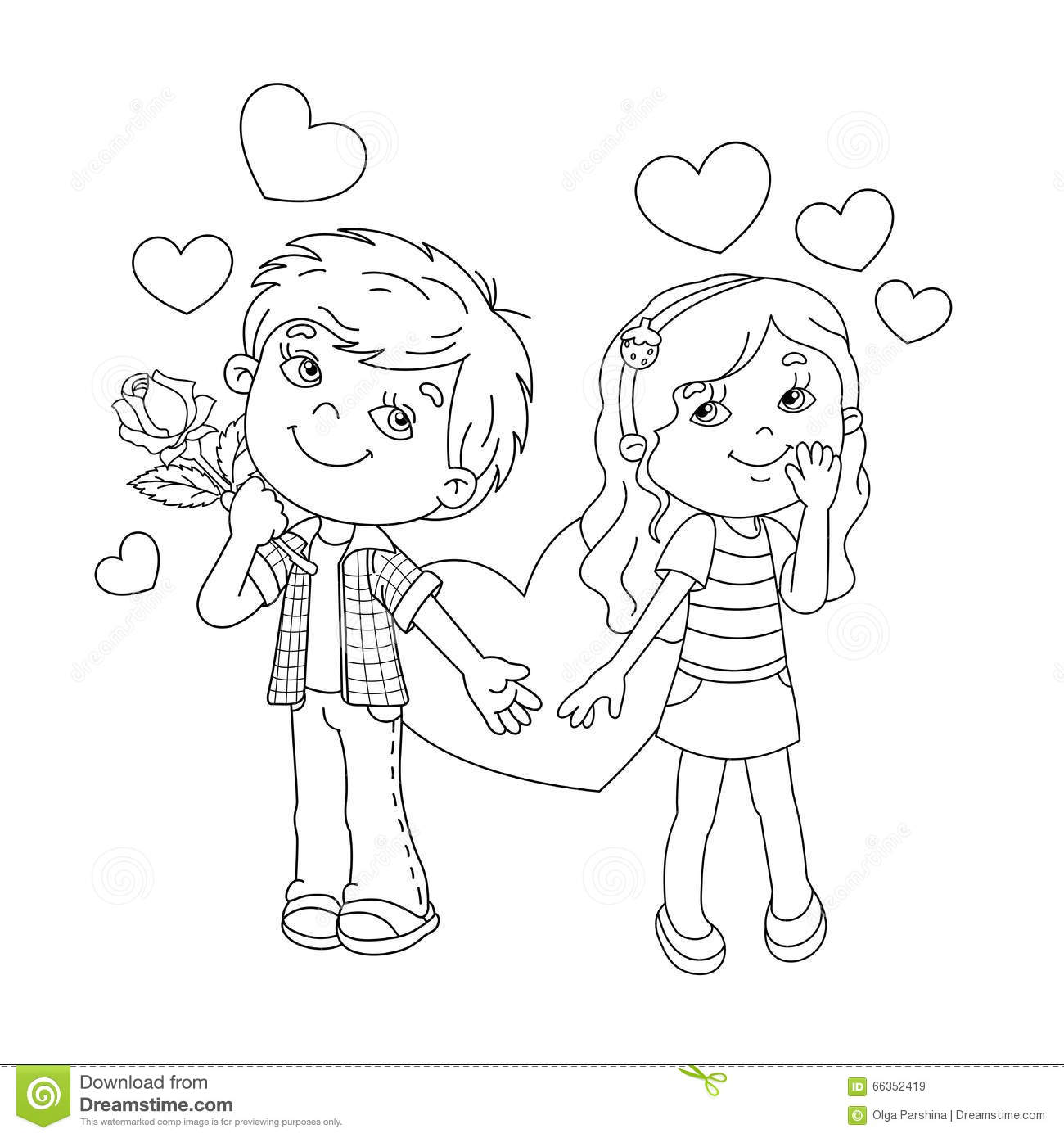 outline of a boy and girl coloring pages incredible design ideas coloring pages for boys and girls coloring boy and pages girl of outline a