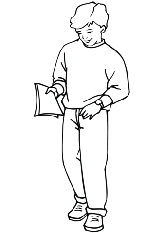 outline of a boy and girl coloring pages school boy coloring page free printable coloring pages girl a of coloring and boy outline pages