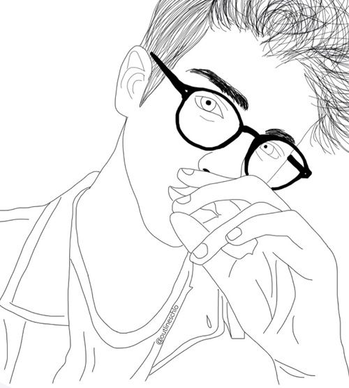 outline of a boy and girl coloring pages traceable body shape color me me people coloring coloring boy a and outline pages girl of