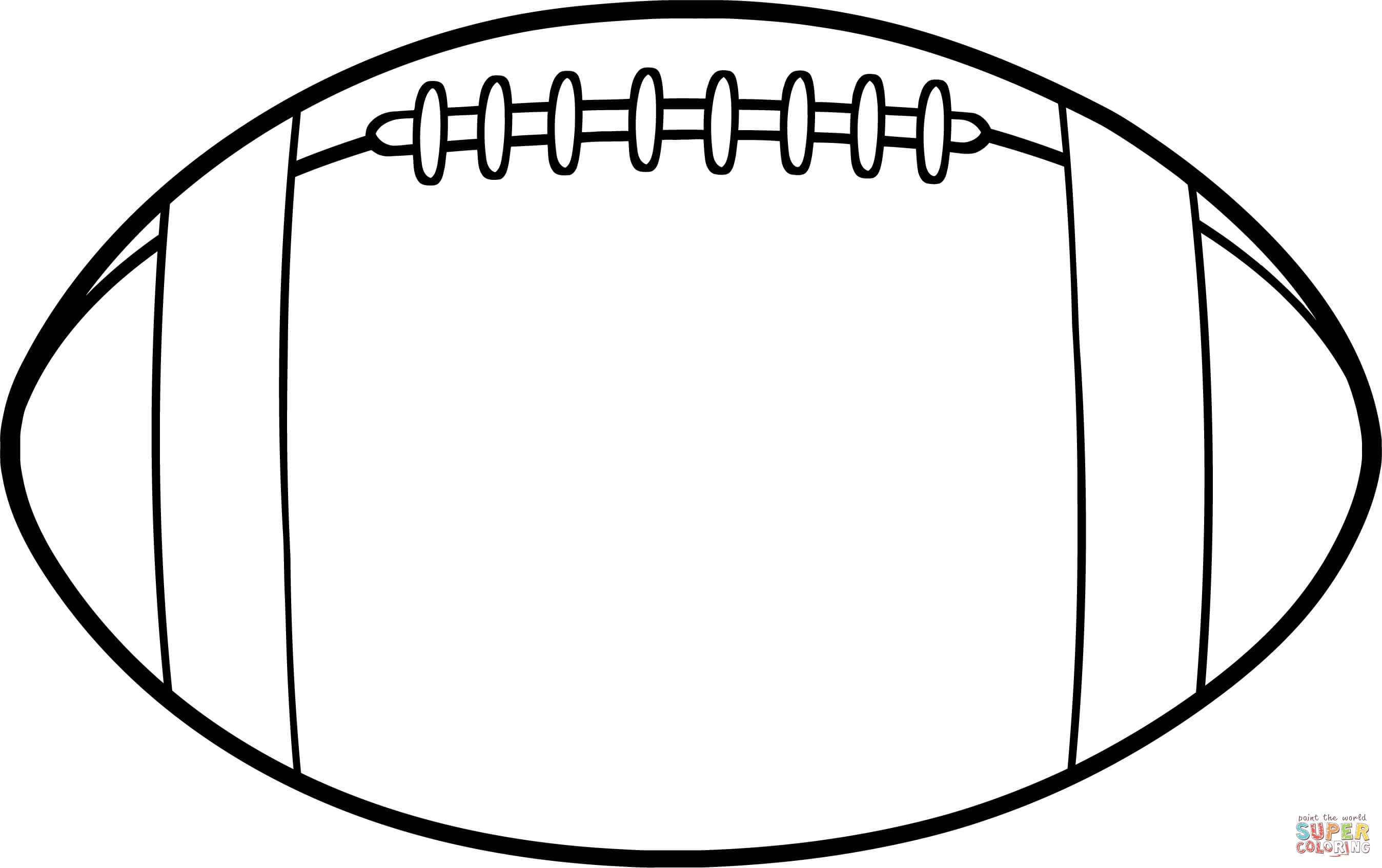 outline of a football football outline clipart clipartpost of football outline a