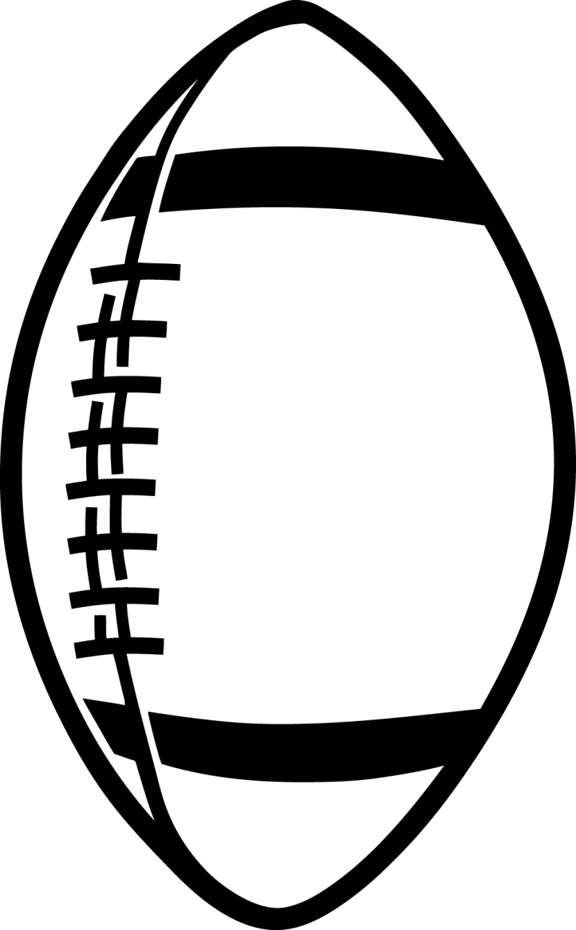 outline of a football free 11 football cliparts in vector eps of a football outline
