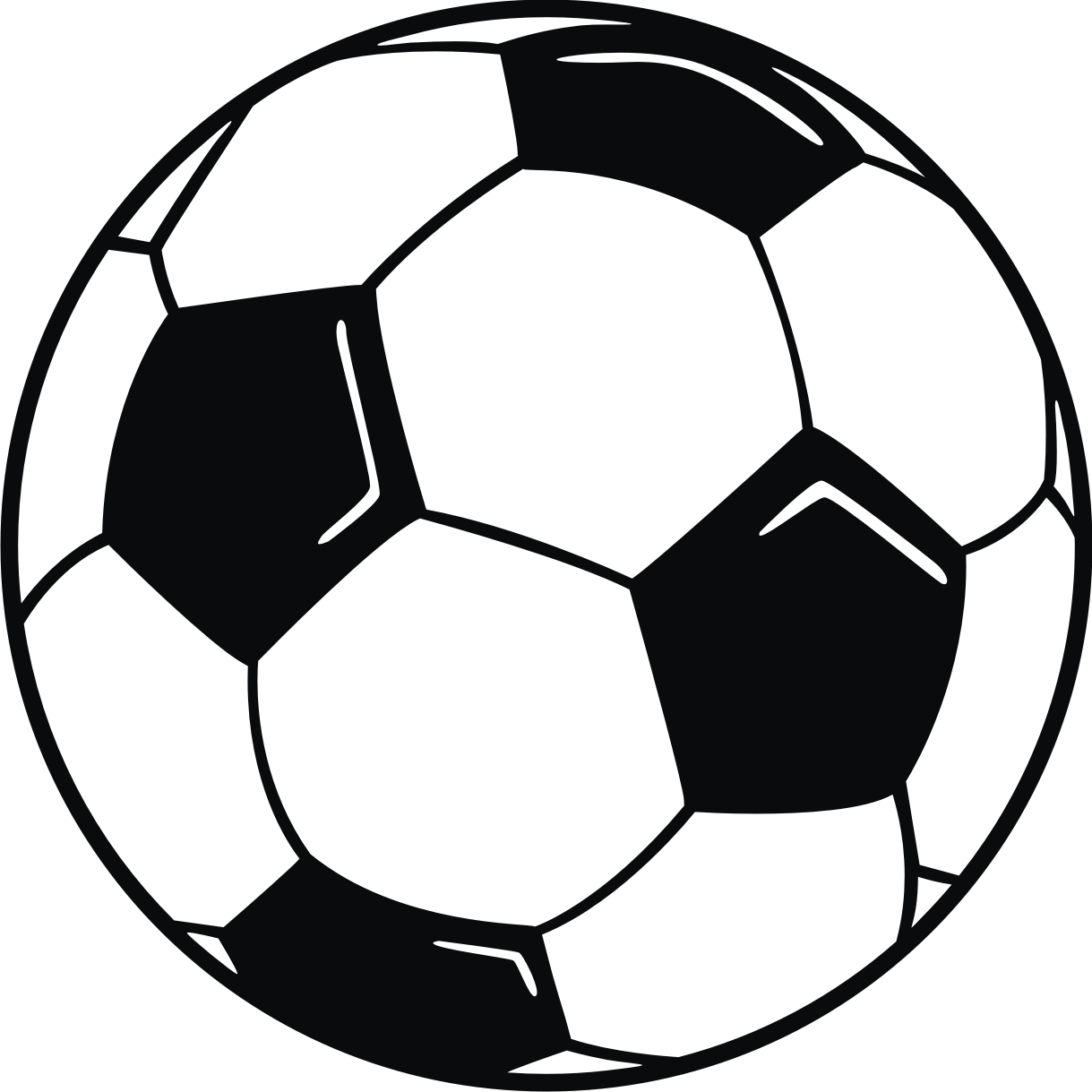 outline of a football picture football clipartsco outline of a football