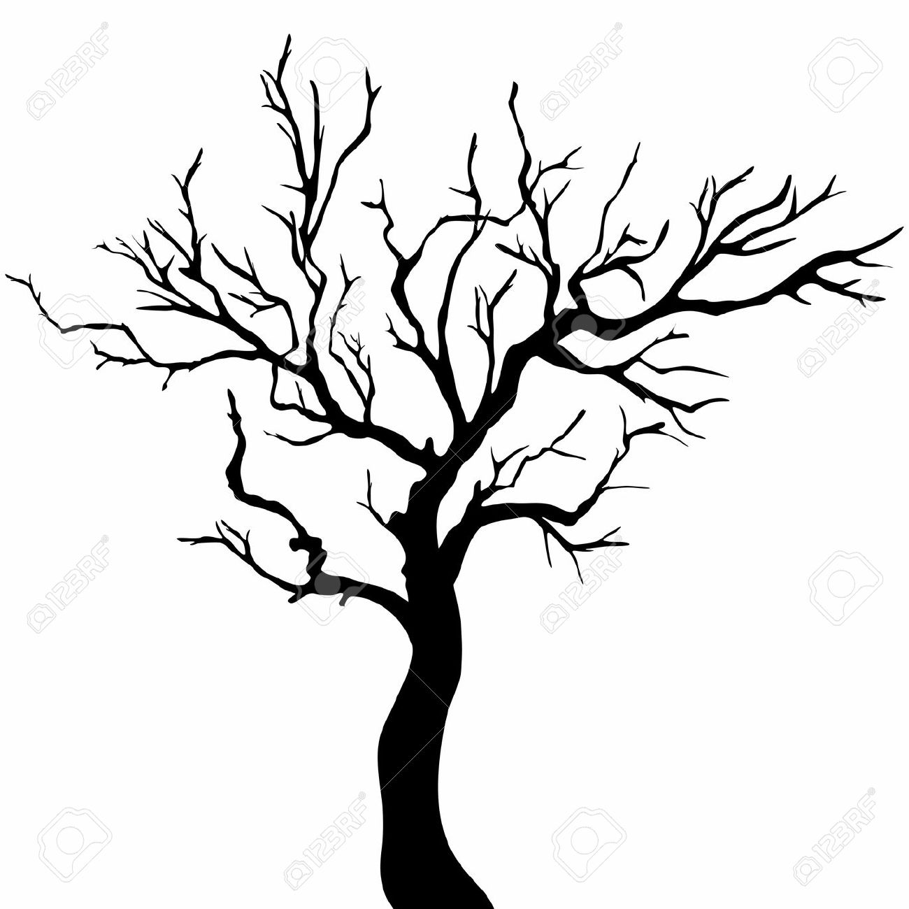 outline of a tree christmas tree drawing outline at getdrawings free download a of outline tree