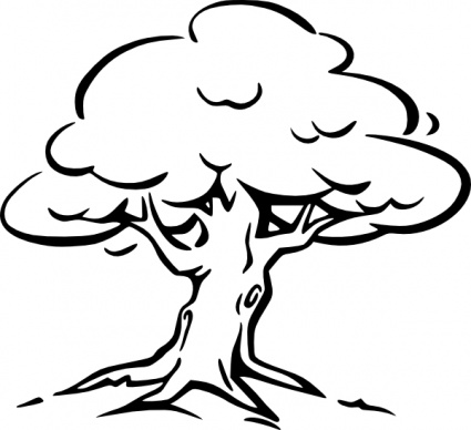 outline of a tree dead tree outline clipart 20 free cliparts download a outline tree of