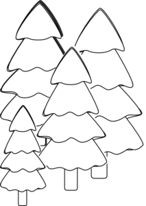outline of a tree tree outline drawing at getdrawings free download of a outline tree