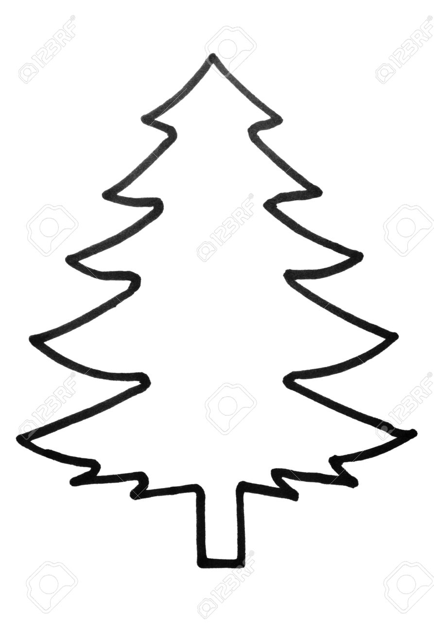 outline of a tree tree outline vector at getdrawings free download of outline tree a