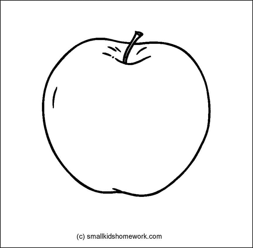 outline of fruits pictures banana flashcard the learning site of fruits outline pictures