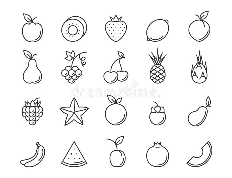 outline of fruits pictures fruit outline stock images royalty free images vectors pictures outline fruits of