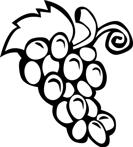 outline of fruits pictures fruit outlines for coloring coloring pages outline fruits pictures of