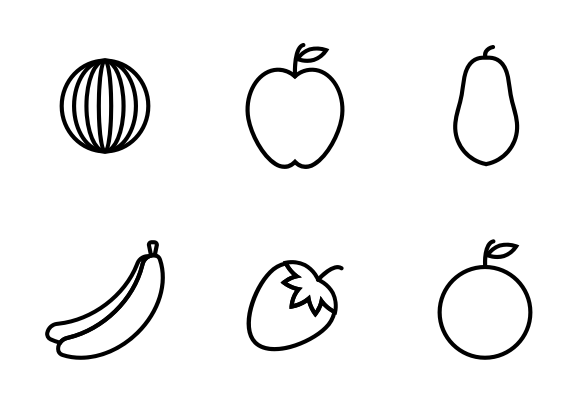 outline of fruits pictures grape outline clipart black and white clipground of fruits pictures outline