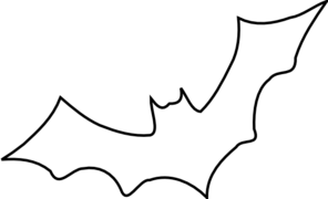 outline picture of bat bat outline halloween coloring pages printable of outline bat picture
