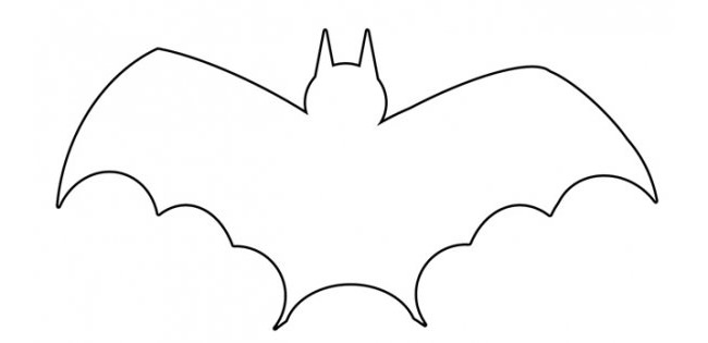 outline picture of bat bat silhouette outline digital art by bigalbaloo stock picture outline bat of