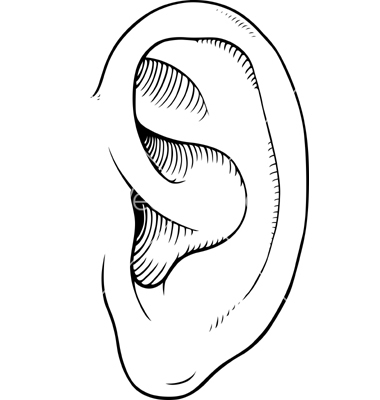 outline picture of ear ear piercing clipart clipground picture outline of ear