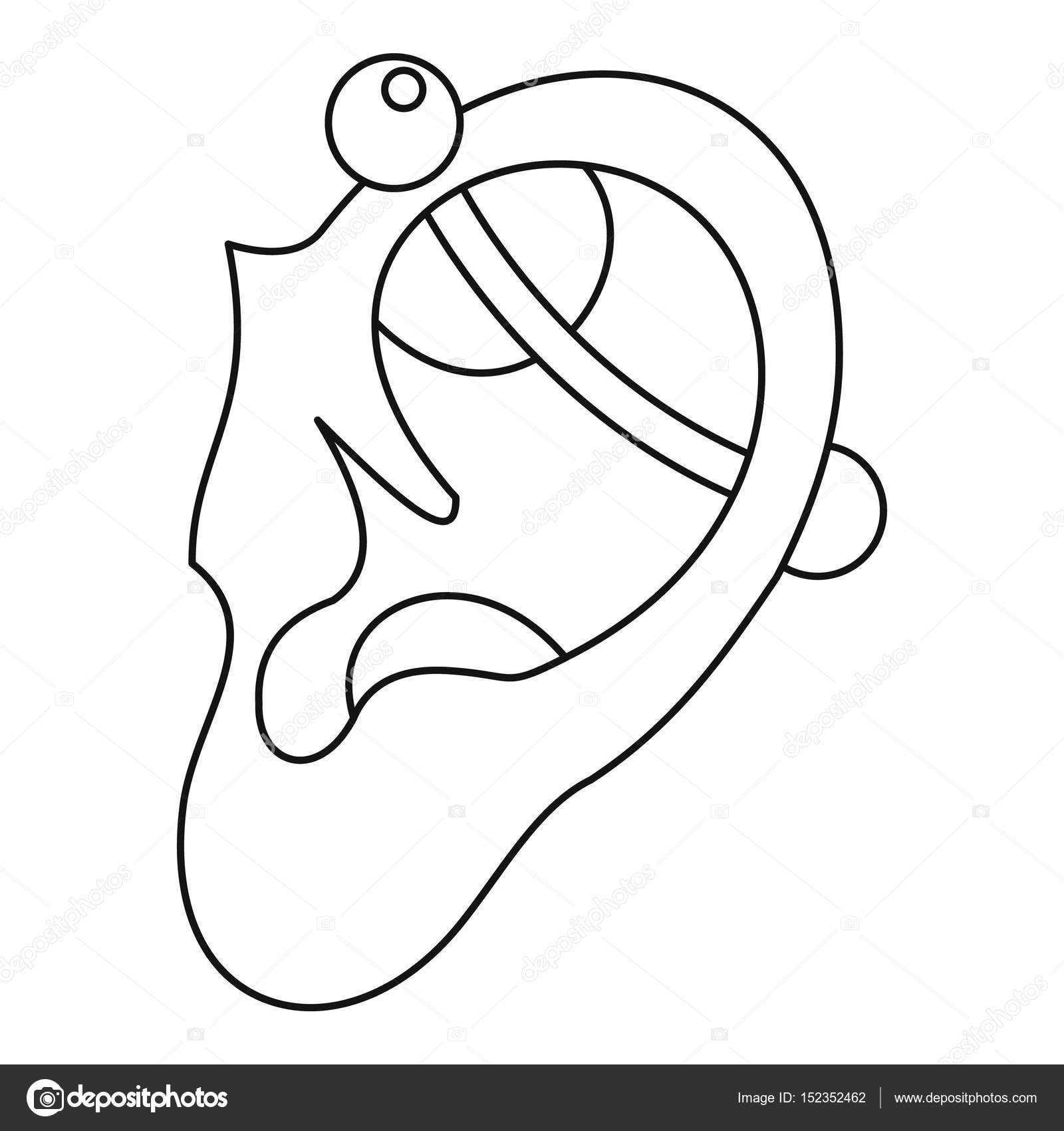 outline picture of ear free download rice ear icon png images ear vector icon ear outline picture of