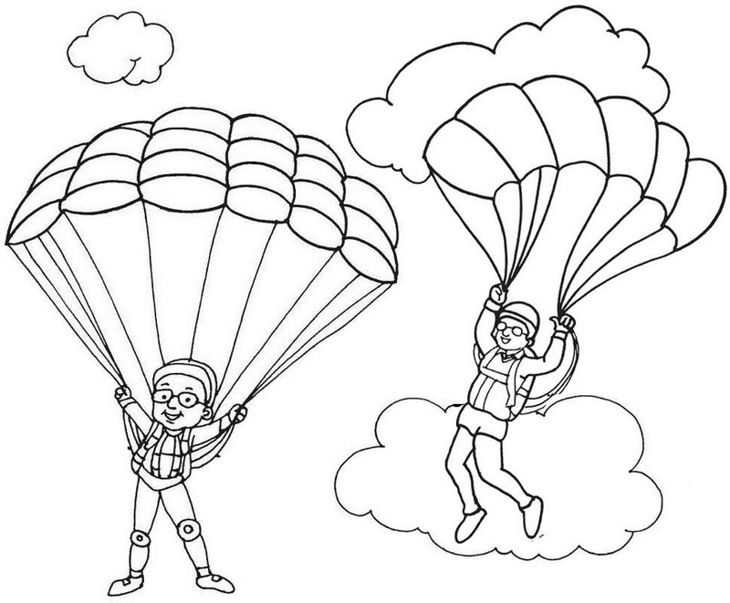 parachute coloring pages first parachute jump coloring page crayolacom parachute coloring pages