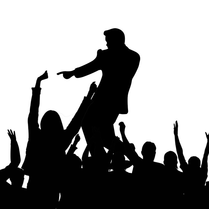 party silhouette party crowd people silhouette stock illustration party silhouette