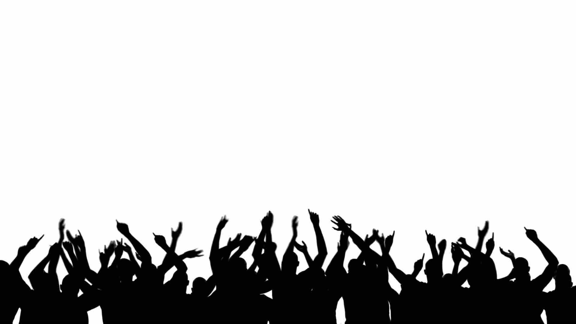 party silhouette party crowd silhouette png download party people silhouette party