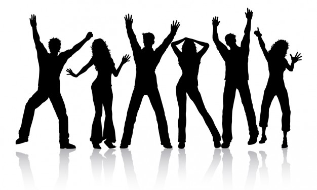 party silhouette party crowd silhouette royalty free video and stock footage party silhouette