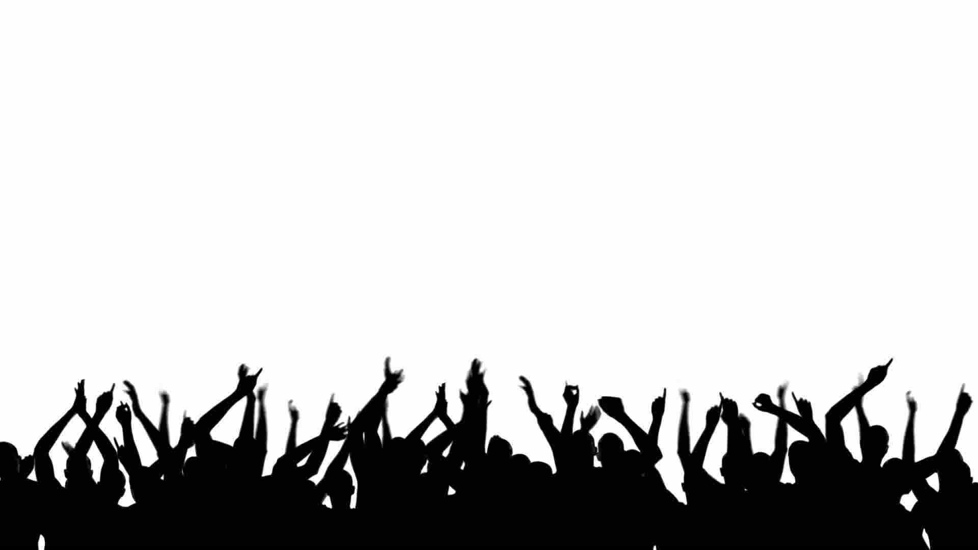 party silhouette party crowd silhouette royalty free video and stock footage party silhouette 1 3