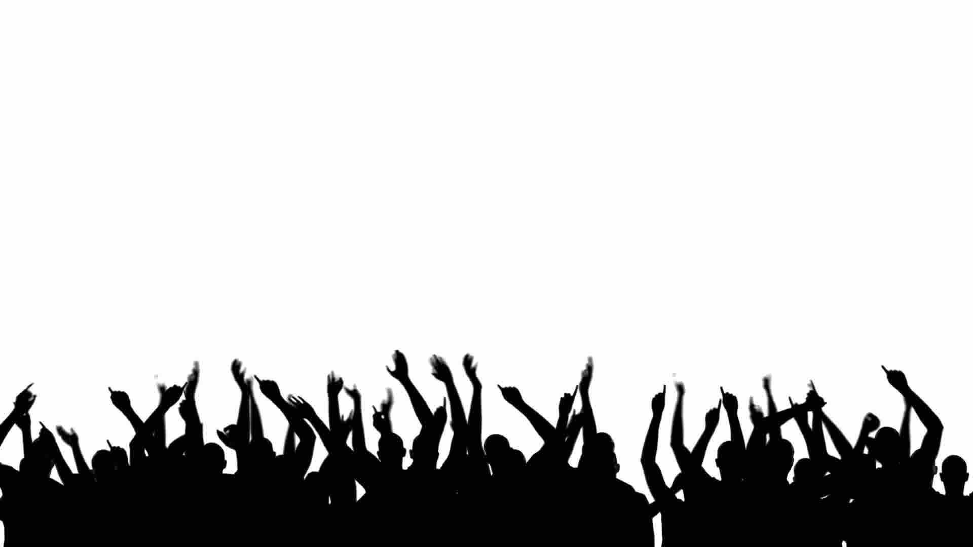 party silhouette party crowd silhouette stock footage youtube silhouette party