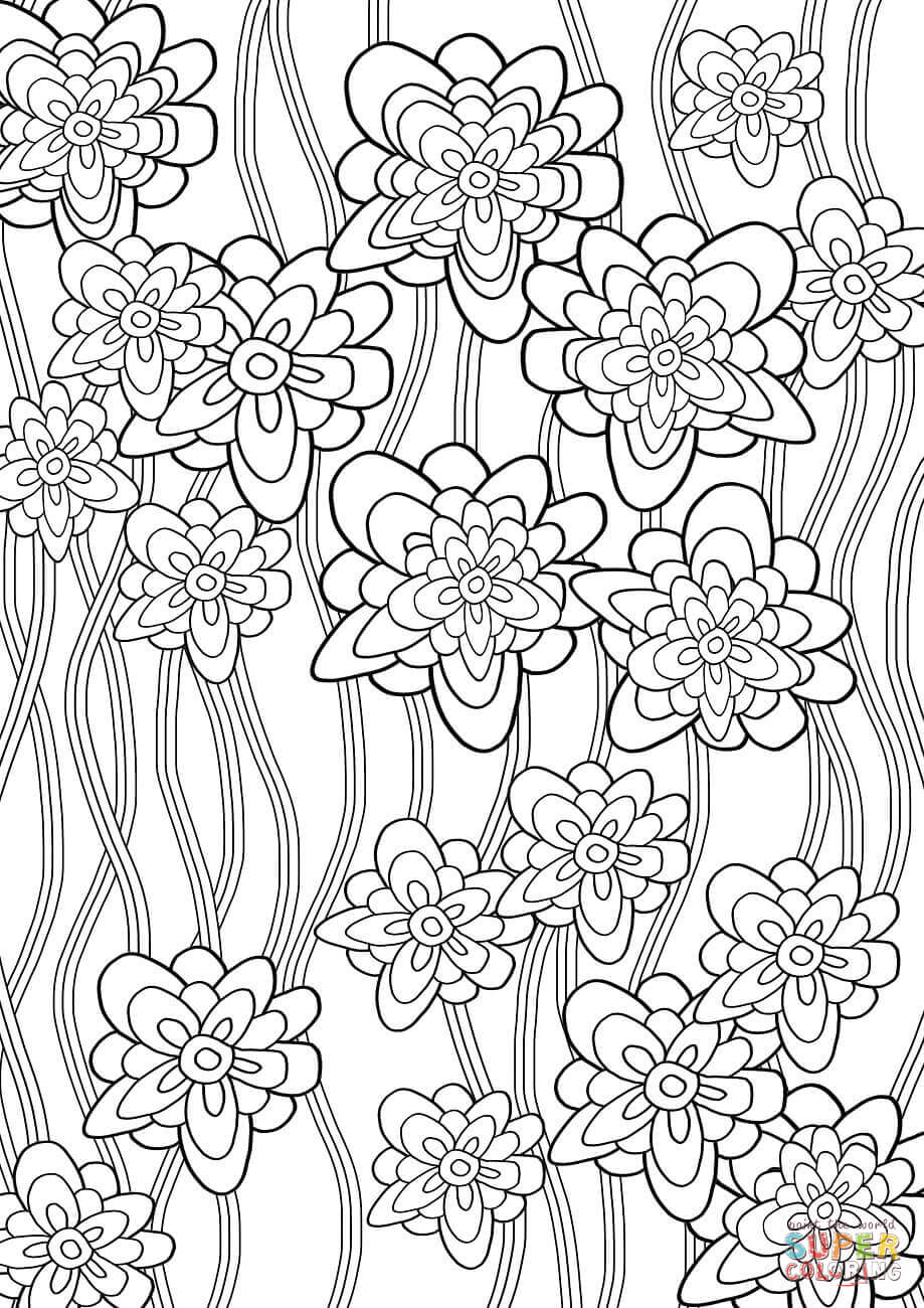 pattern coloring books floral pattern coloring page free printable coloring pages pattern coloring books 1 1