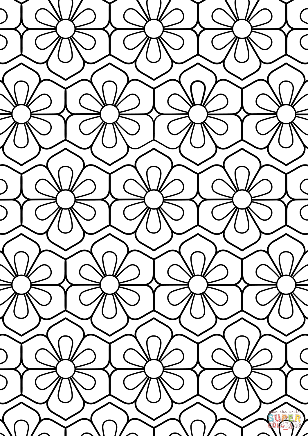 pattern coloring books flower pattern coloring page free printable coloring pages pattern books coloring