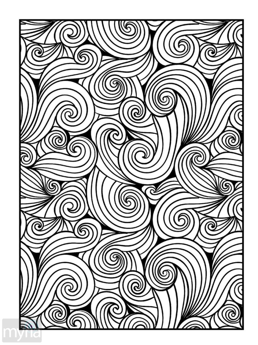 pattern coloring pages for adults large print adult coloring book 4 big beautiful pages pattern for adults coloring
