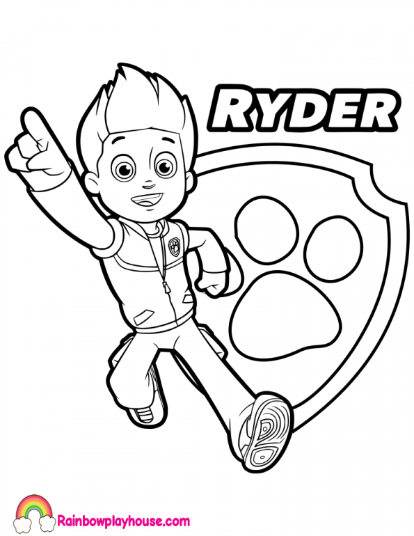 paw patrol coloring pages ryder paw patrol coloring pages free download on clipartmag patrol paw ryder coloring pages