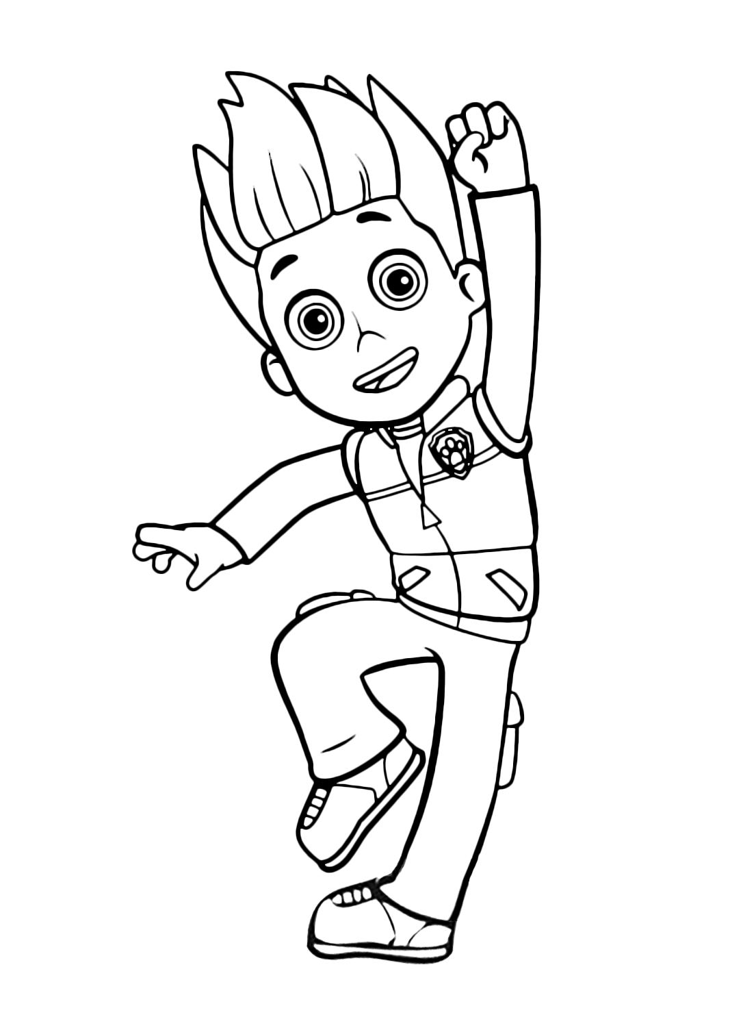 paw patrol coloring pages ryder ryder paw patrol coloring pages download and print ryder pages coloring paw patrol ryder