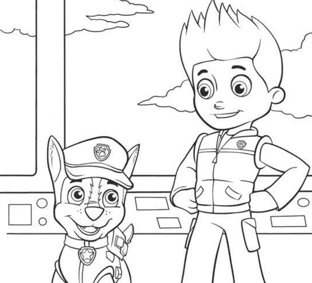 paw patrol coloring pages ryder ryder paw patrol coloring pages download and print ryder patrol coloring paw pages ryder