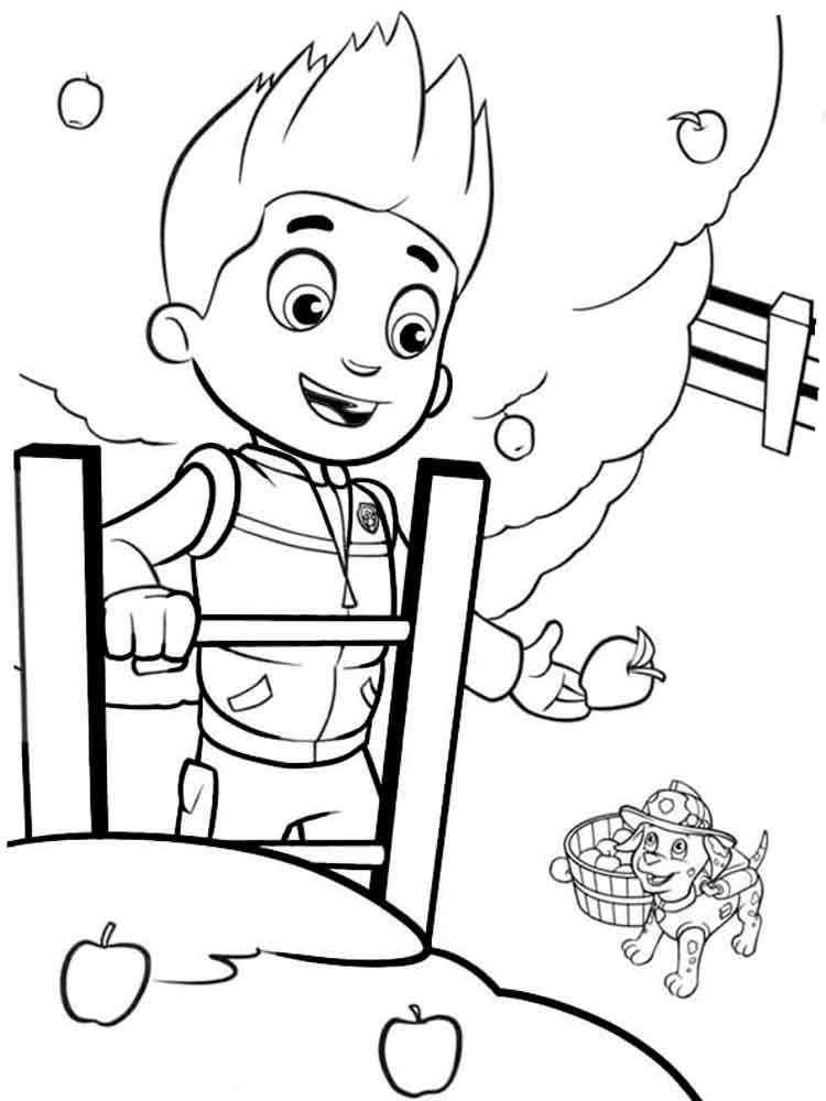 paw patrol coloring pages ryder ryder paw patrol coloring pages download and print ryder ryder paw pages coloring patrol