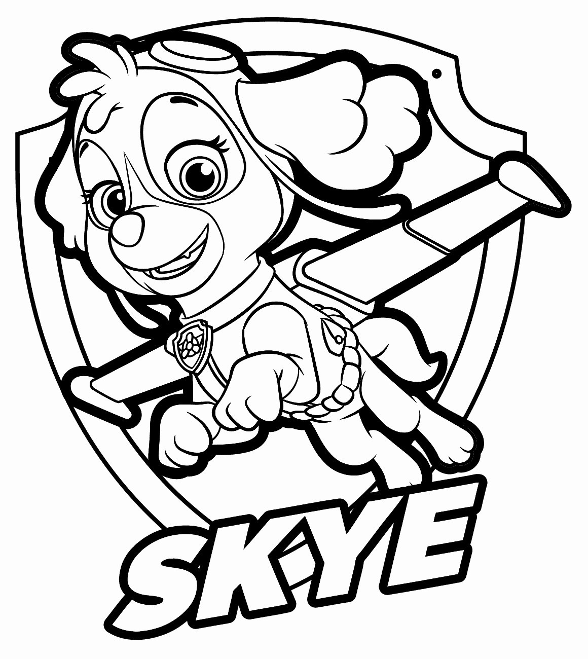 paw patrol free coloring 15 best paw patrol coloring pages visual arts ideas coloring patrol paw free