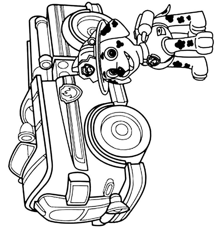 paw patrol marshall coloring marshall paw patrol coloring pages 32 print color craft marshall paw coloring patrol