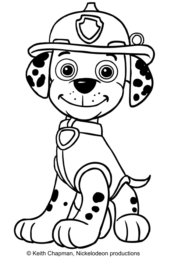 paw patrol marshall coloring marshall paw patrol coloring pages download and print marshall paw patrol coloring
