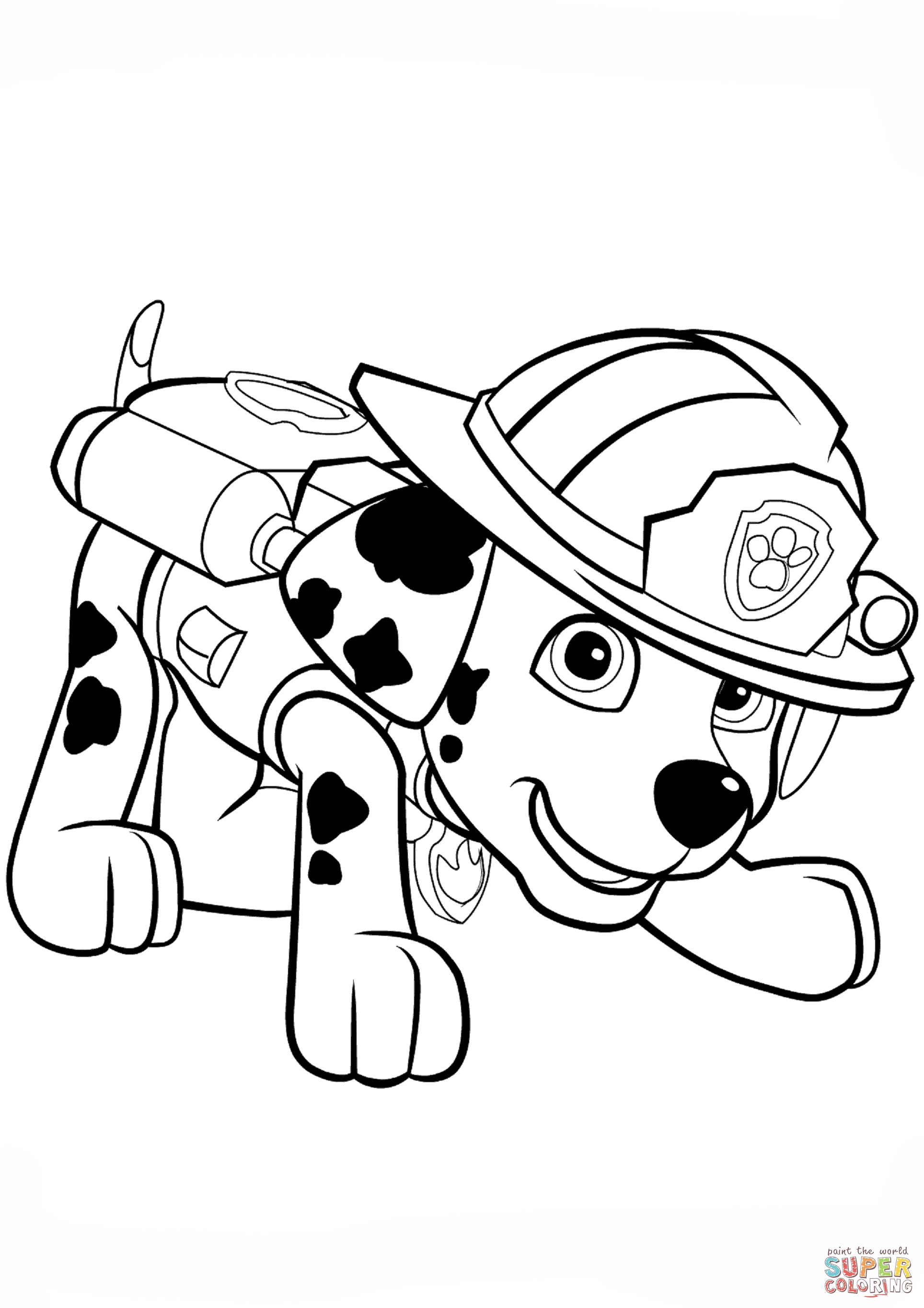 paw patrol marshall coloring paw patrol printable coloring sheets coloring pages marshall paw coloring patrol