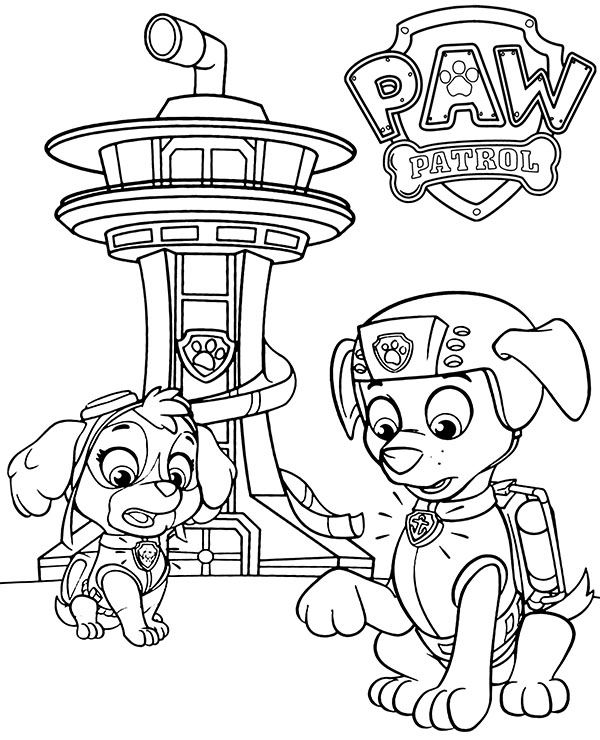 paw patrol vehicles coloring pages paw patrol coloring pages free printable coloring page paw coloring patrol vehicles pages