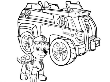paw patrol vehicles coloring pages paw patrol ryder free colouring pages pages vehicles patrol coloring paw