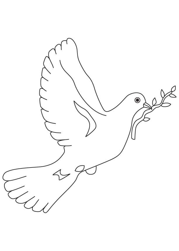 peace dove coloring page dove of peace coloring pages to download and print for free peace dove coloring page