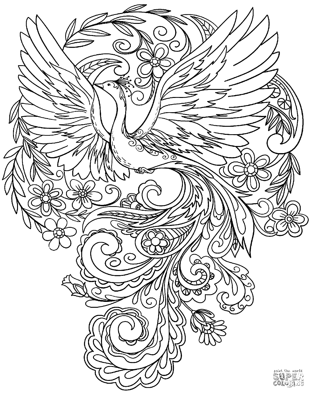 peacock coloring beautiful peacock coloring pages for girls print color craft peacock coloring