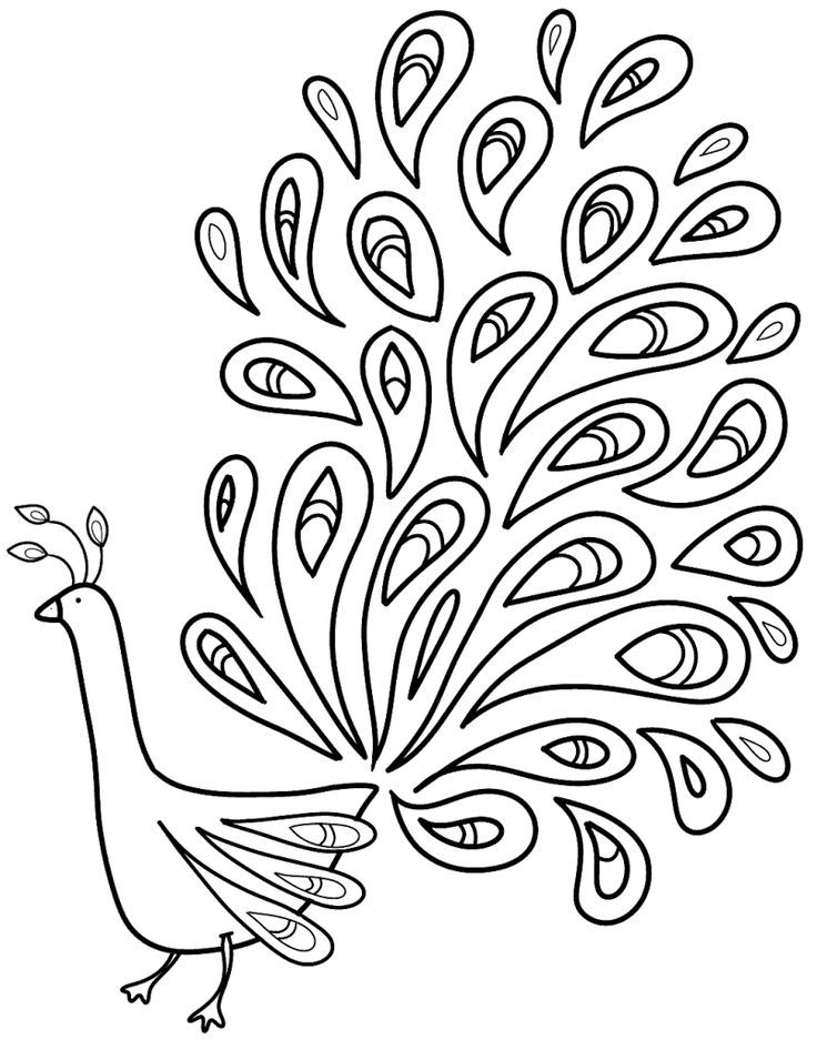 peacock coloring peacocks to color for kids peacocks kids coloring pages peacock coloring 1 1