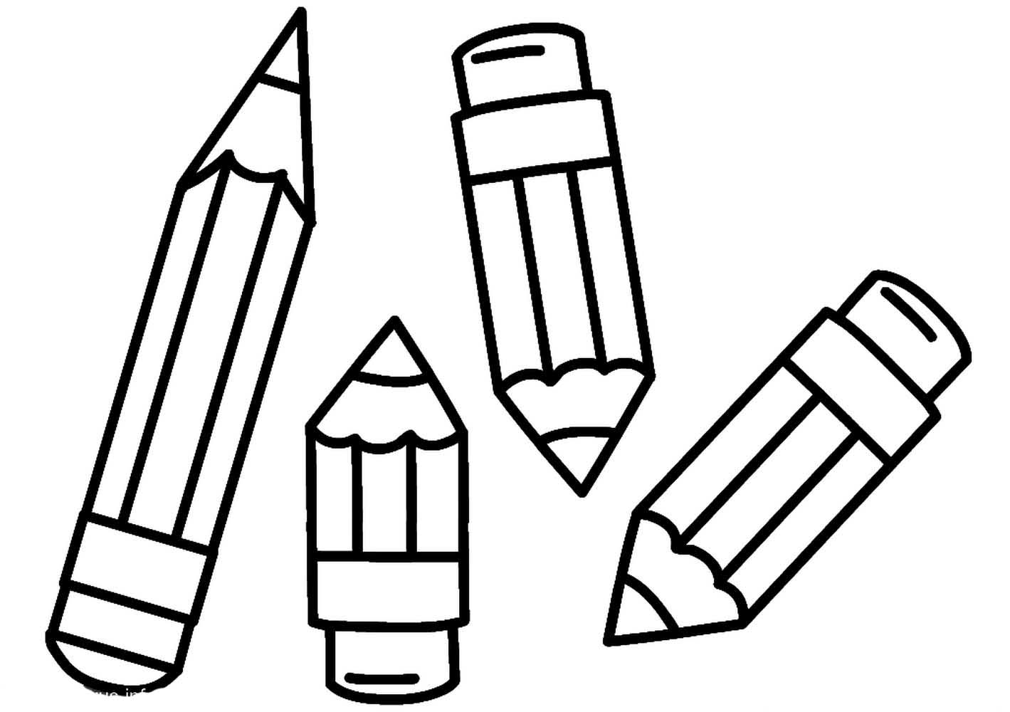 pencil coloring page pencil coloring pages to download and print for free coloring page pencil 1 1