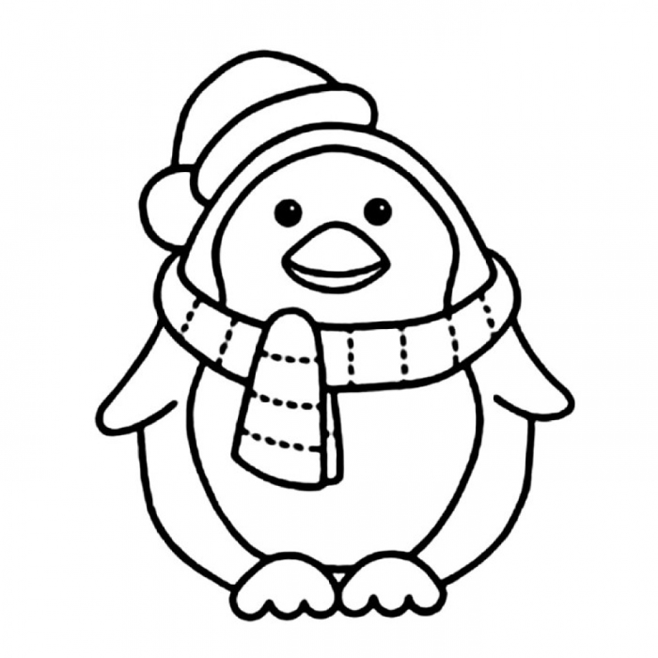 penguin picture to color cute baby penguin coloring page blogxinfo blogxinfo color penguin picture to