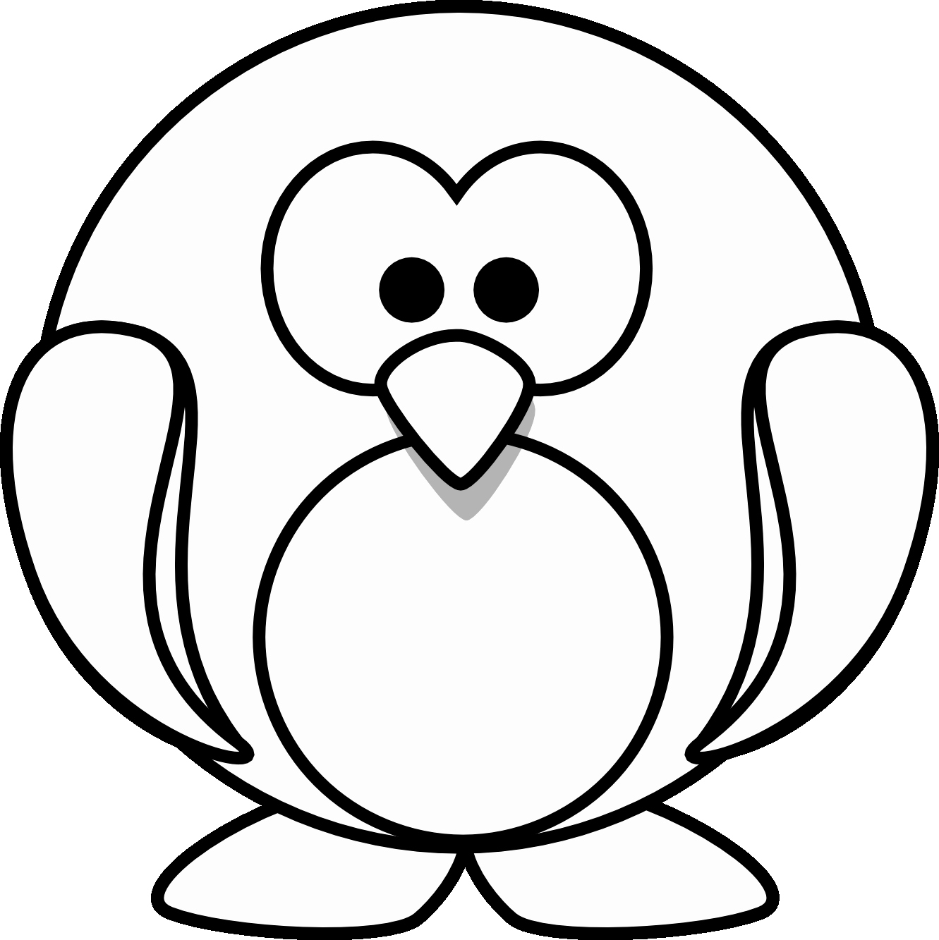 penguin picture to color free penguin coloring pages for adults printable to color to penguin picture