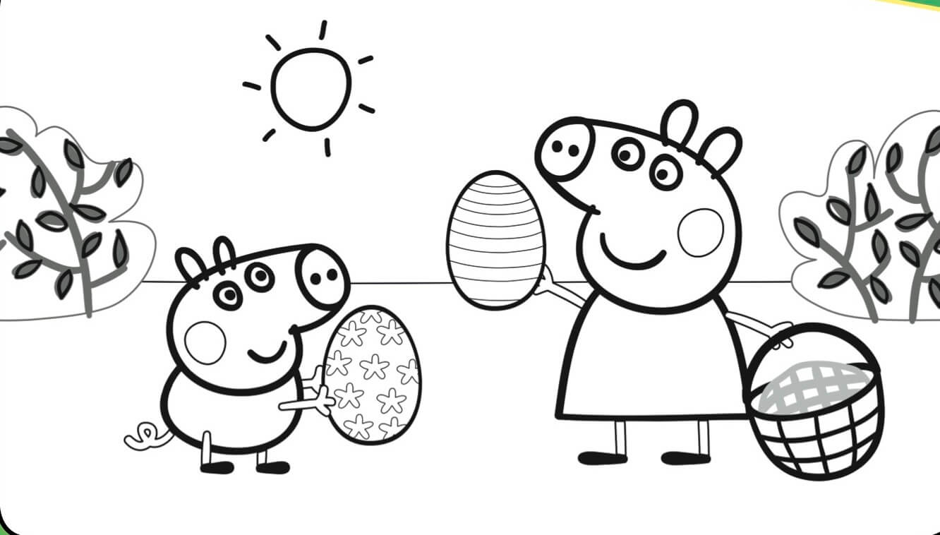 peppa pig colo 30 printable peppa pig coloring pages you wont find peppa colo pig
