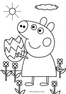 peppa pig colo free printable peppa pig coloring pages for kids pig colo peppa